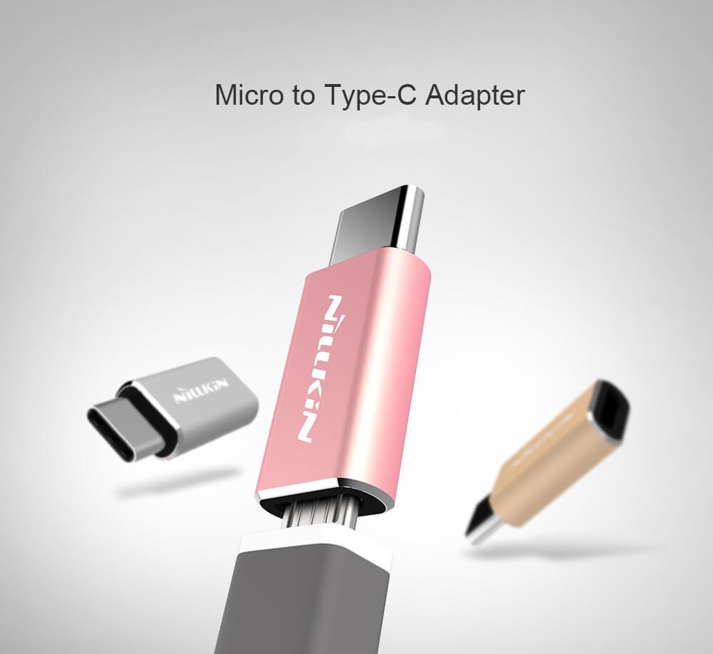 Nillkin Micro USB към Type-C преходник