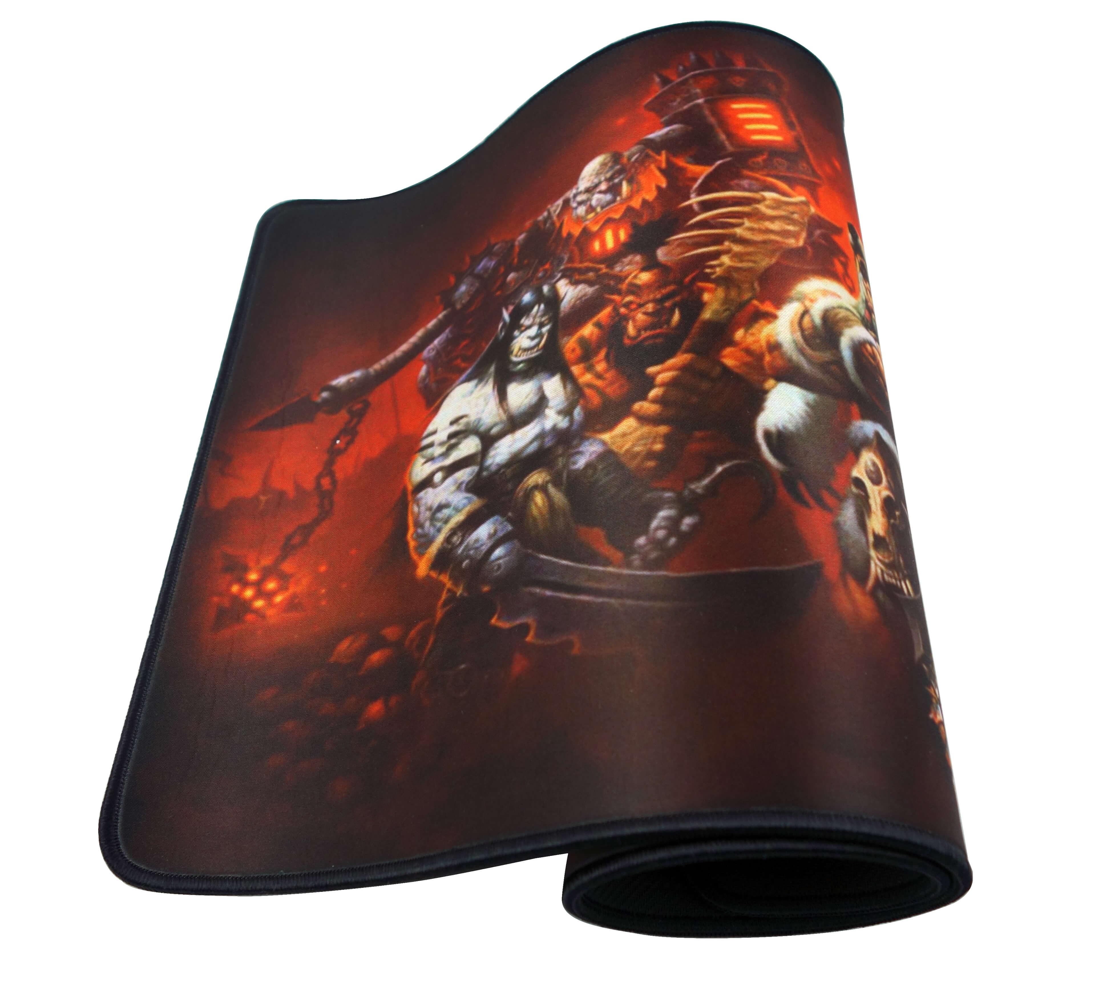 Геймърска подложка за мишка WOW Warlords Of Draenor XL