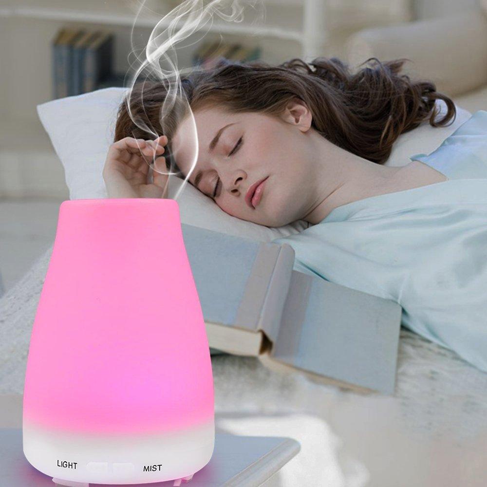 Дифузер за ароматерапия и овлажнител на въздуха