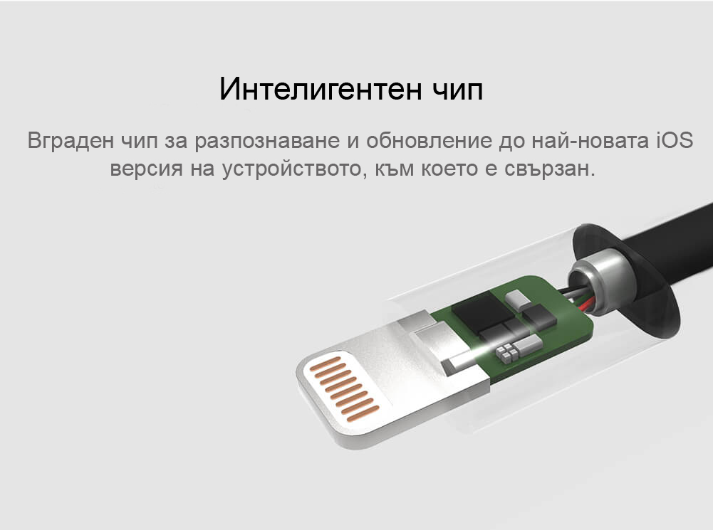 Nillkin Rapid Lightning Apple MFI кабел