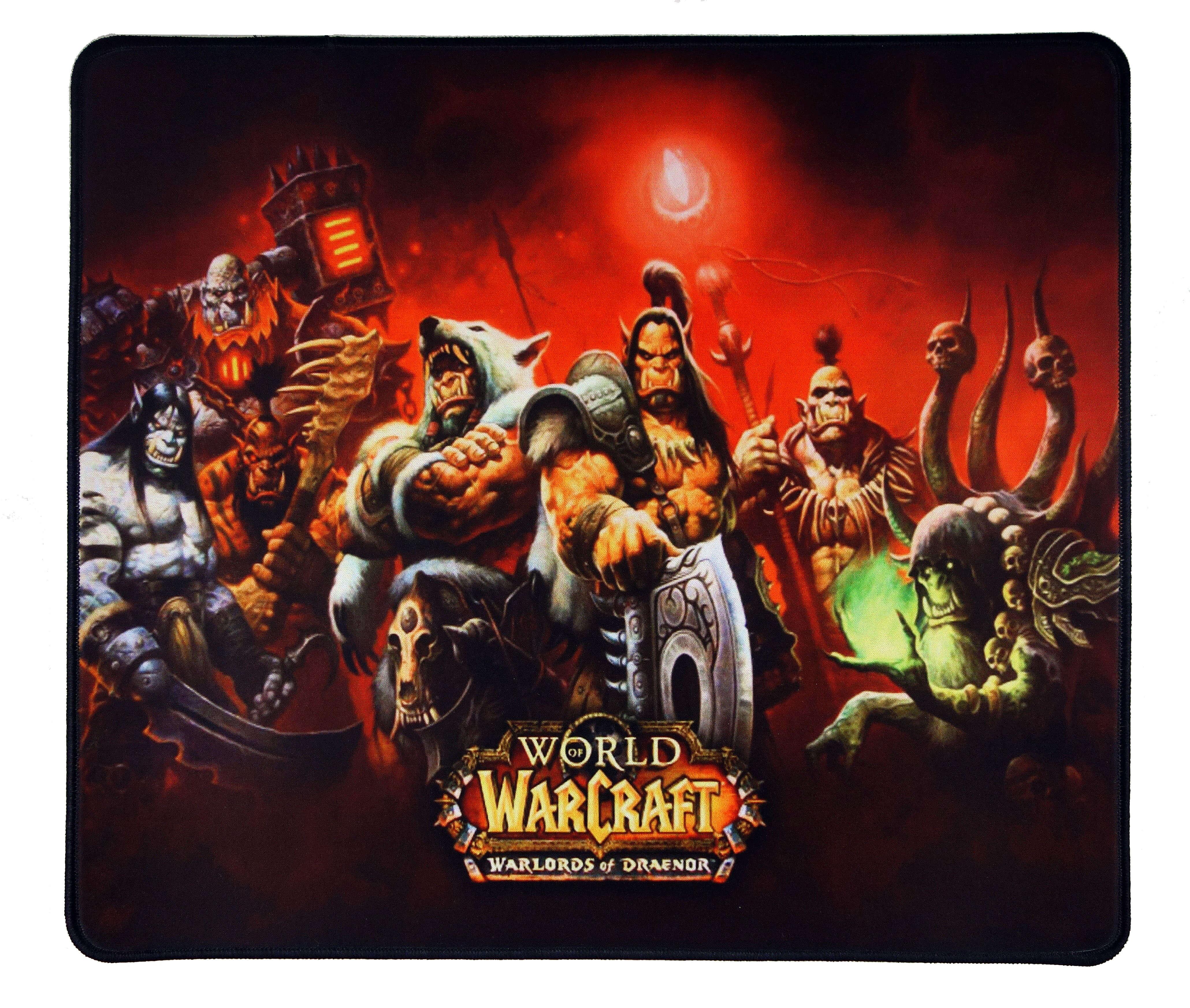 Геймърска подложка за мишка WOW Warlords Of Draenor L