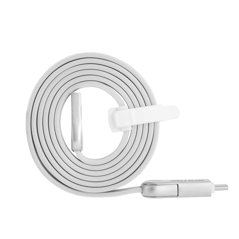 Nillkin PLUS III Micro USB и Type-C кабел
